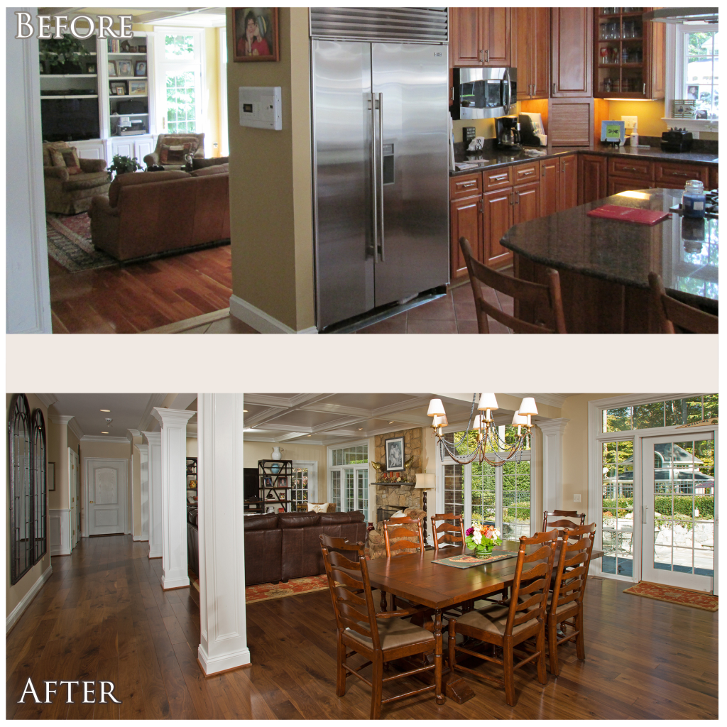 Kitchen Living Room Remodel: Main Level Remodel Project Spotlight