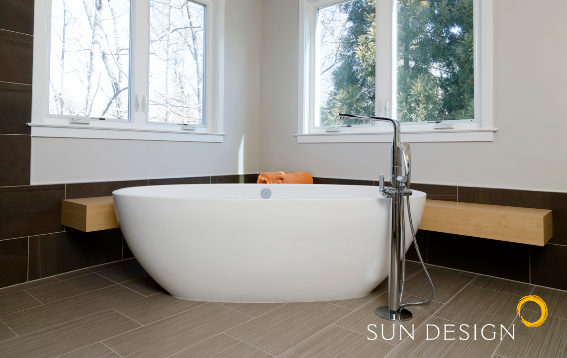 Bathroom Design Portfolio Northern VA | Sun Design Remodeling