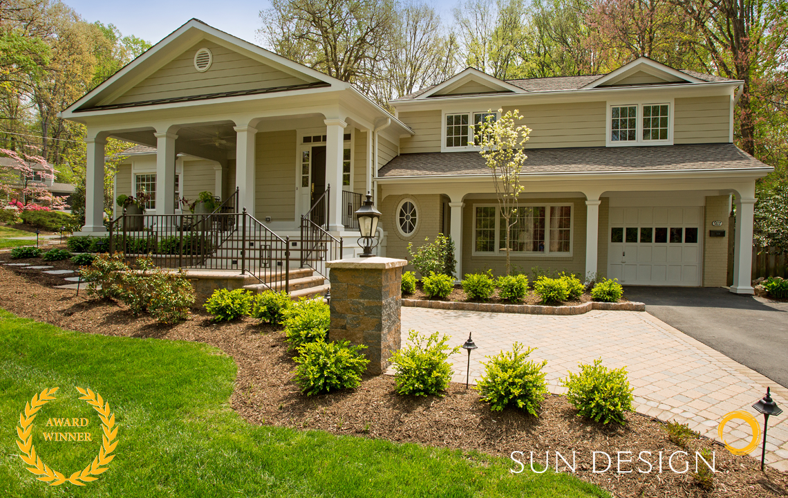 Whole House Remodeling Northern VA | Sun Design Remodeling on landscape designs for victorian homes, interior design for split level homes, landscape designs for log homes, kitchens for split level homes, decks for split level homes, landscape designs for ranch style homes,