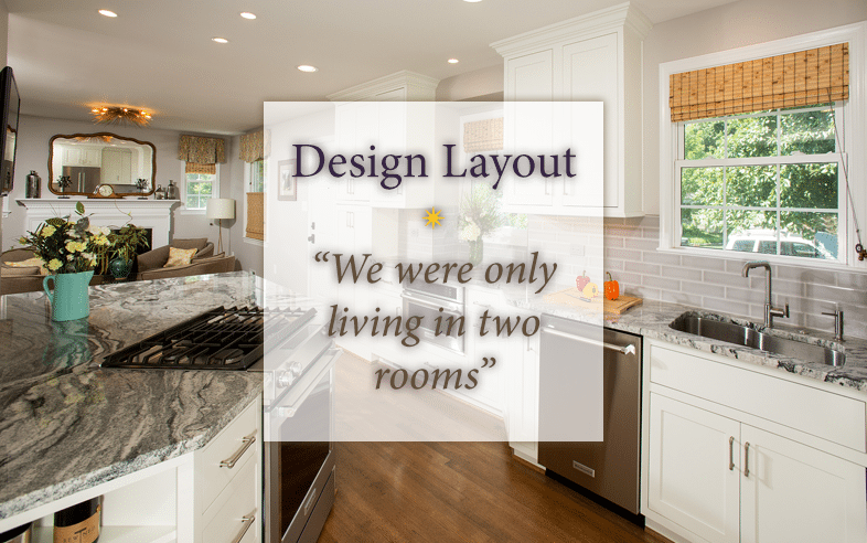 """Design Layout """"We Were Only Living In Two Rooms"""" Sun Design Best Sun Design Remodeling"""